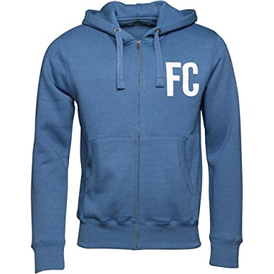 bb68d0f491e French Connection Block FC Zip Hoody Light Blue Melange For Men (X-Large,  Light Blue): Amazon.co.uk: Clothing