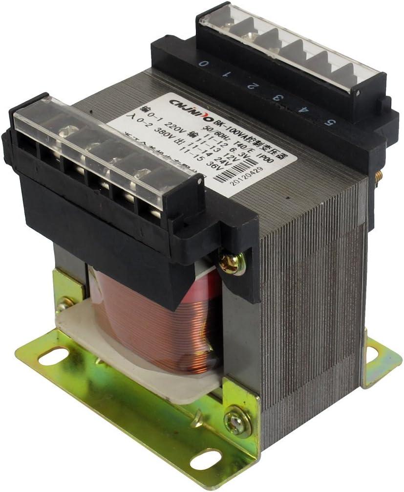 X-Dr Transformador de control de voltaje automático monofásico de salida CA 6.3V 12V 24V 36V (092ce2d06b2cdd912d46bf9cbb904c2f)