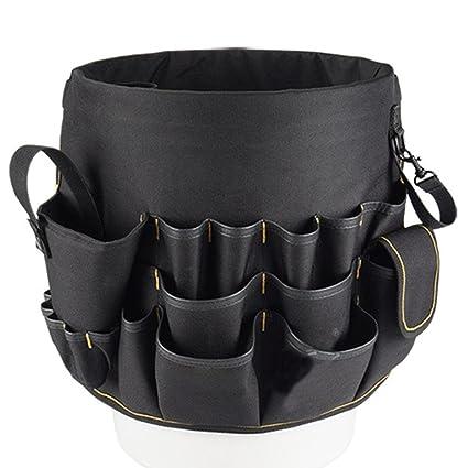 Saco a herramientas rígida caja de herramientas textil bolsa de electricista  (en lienzo neceser herramientas ed5be850dd95