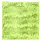 DIFFERNZ 31.102.89Candore Bath Mat, Lime Green/Matching Colour