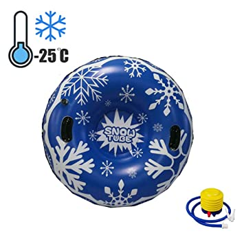 LTLSF Trineo De Nieve Inflatable, Trineo Hinchable Snow Tubo ...
