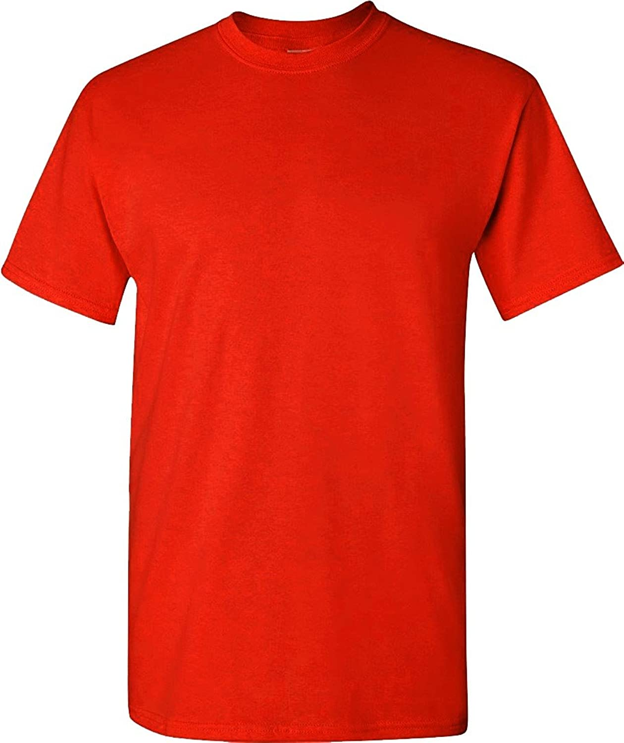 AAA Mens Basic Round Neck T Shirts Solid Short Sleeve Tee S-3XL