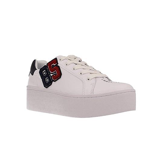 Zapatillas Tommy Hilfiger EN0EN00387 100 White 37 Blanco: Amazon.es: Zapatos y complementos