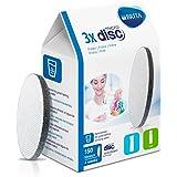 Brita 1012980 Fill & Serve - Confezione da 3 filtri a disco, 7,1 x 4,1 x 10,2 cm