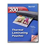 Nuova 200-Pack, 5 Mil Thermal Laminating Pouches 9 x 11.5 Inches, Letter Size
