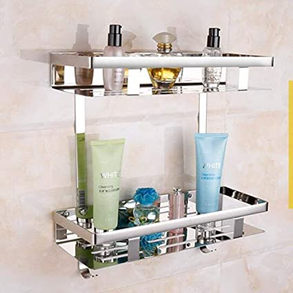 Amazon Com Pllp Kitchen Bathroom Shelf Stainless Steel 304 Towel
