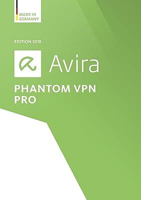 Avira Phantom VPN Pro 2018   1 User   1 Year Unlimited [Online Code]