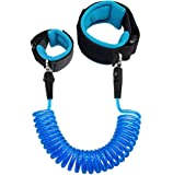 Anti Lost Wrist Link 2.5M Safety Wrist Link for Toddlers Children & Kids (Blue) by Blisstime