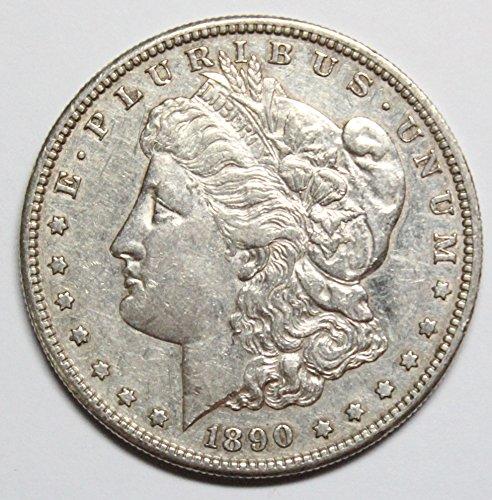 1890 S Morgan Silver Dollar $1 XF