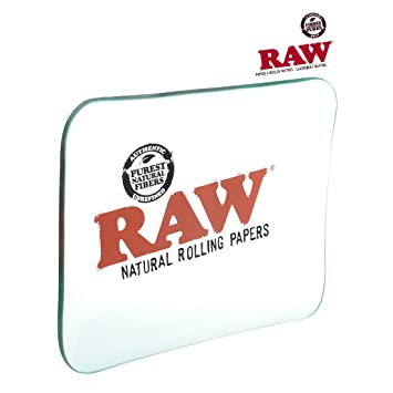 Amazon Com Raw Glass Rolling Tray Limited Edition Large From Raw