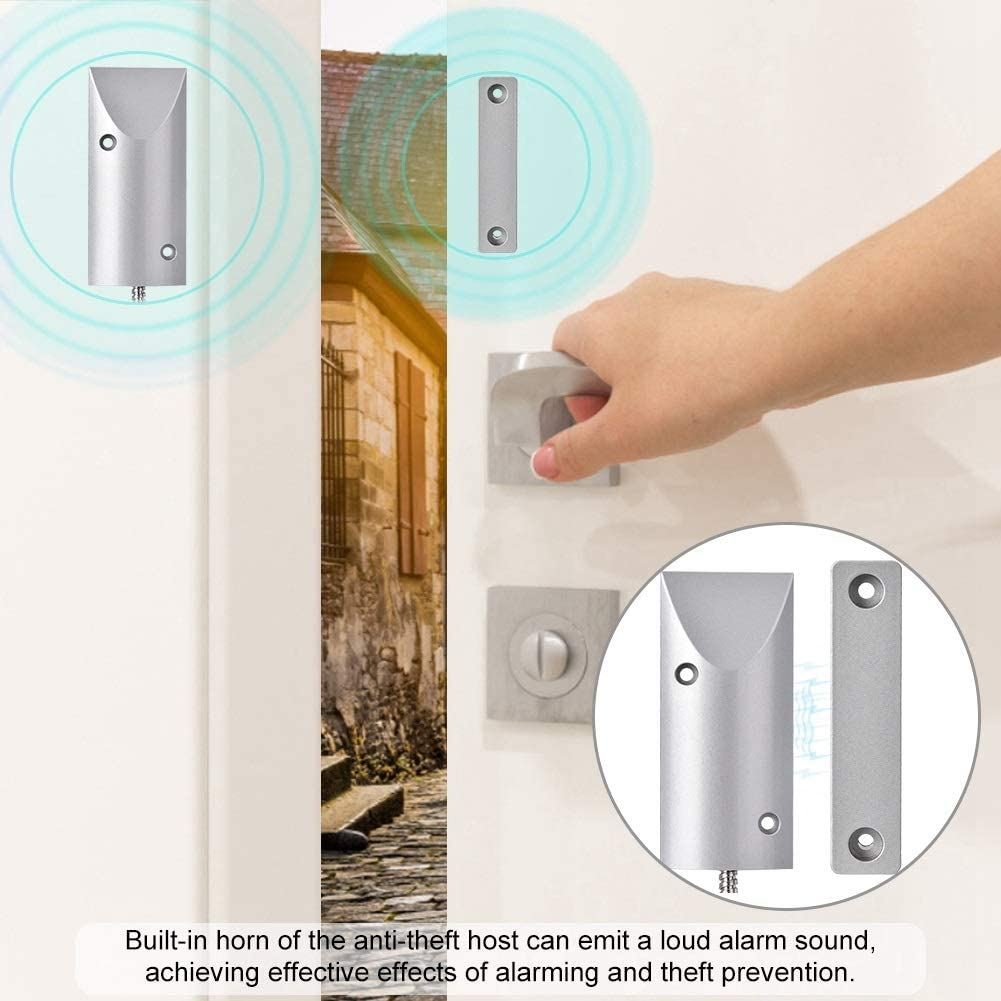 MAGT Magnetic Alarm Wired Rolling Door Alarm Magnetic Contact Sensor Detector Anti-Theft Security System
