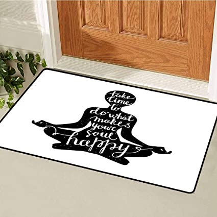 Amazon.com : RelaxBear Yoga Commercial Grade Entrance mat ...