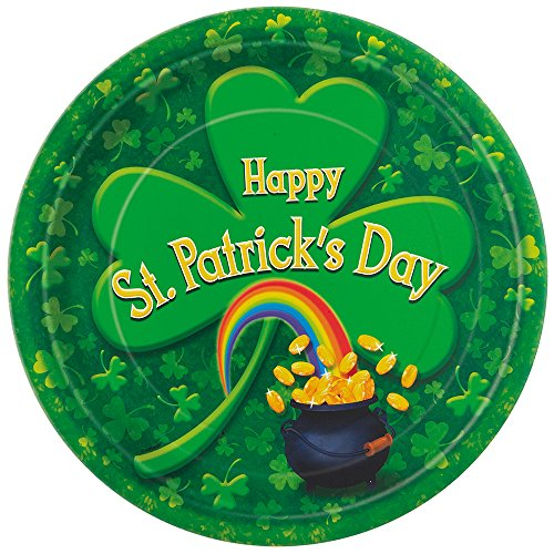Pot O' Gold Saint Patrick's Day Dinner Plates, 8ct