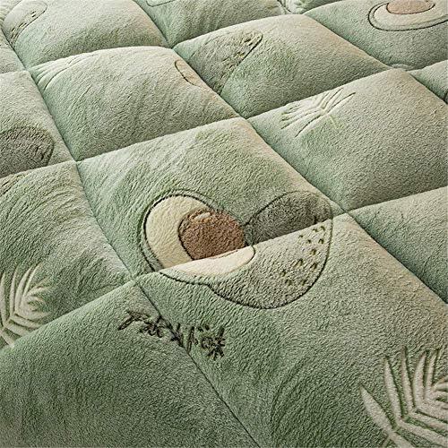 ZTBXQ Accueil Ustensiles Couette en Coton d'hiver Double Face Velvet Warm Quilt Core Snowflake Velvet + Lamb Velvet Fabric Épaissi Warm Gift Quilt (A 04220 x 240 cm 5kg)