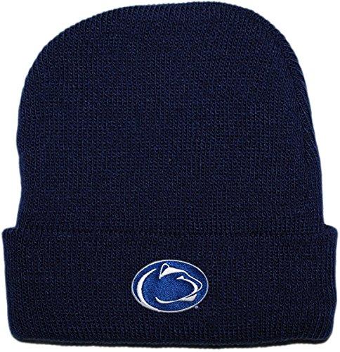 (Creative Knitwear Pennsylvania State University Nittany Lions Newborn Knit Cap)