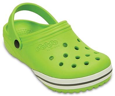 4aefc47c3 Crocs Girl s Clogs Kilby Beach Shoes J1 Green