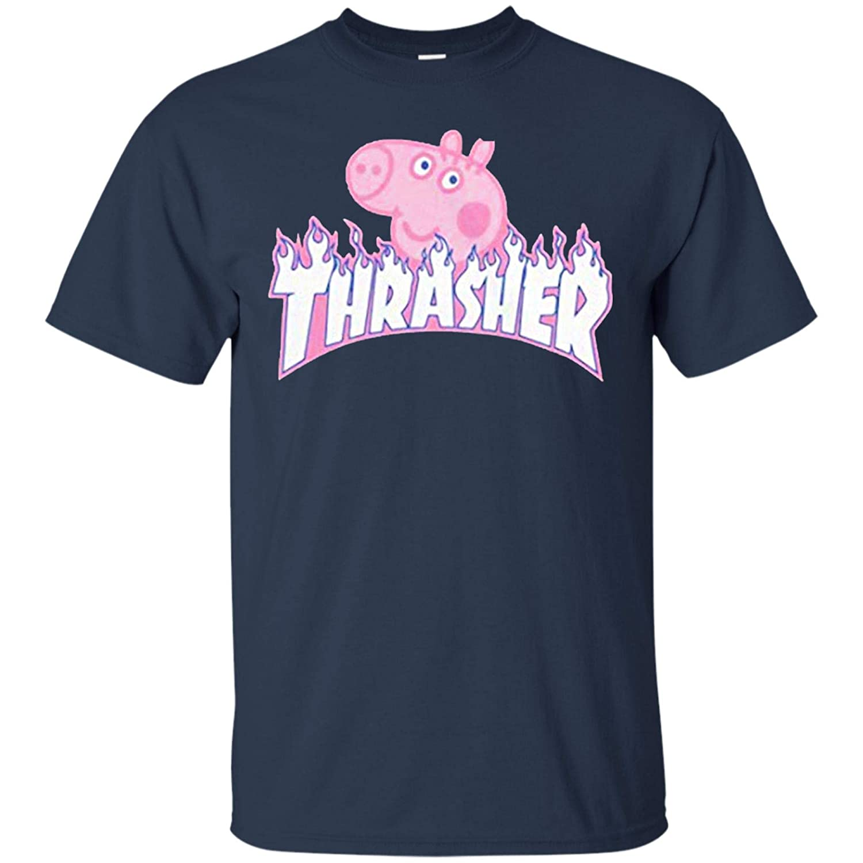 Xtee Store Thrasher Peppa Pig T - Shirt for Men 2