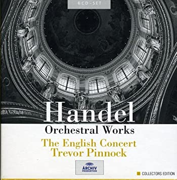 Image result for handel orchestral works pinnock amazon