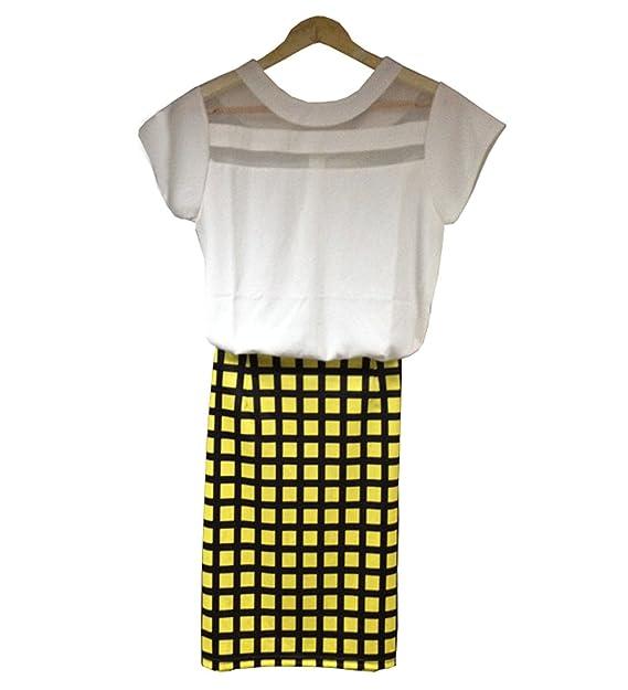 Summer New para escribir encima con bordes traje de neopreno para mujer blusas de chifón de