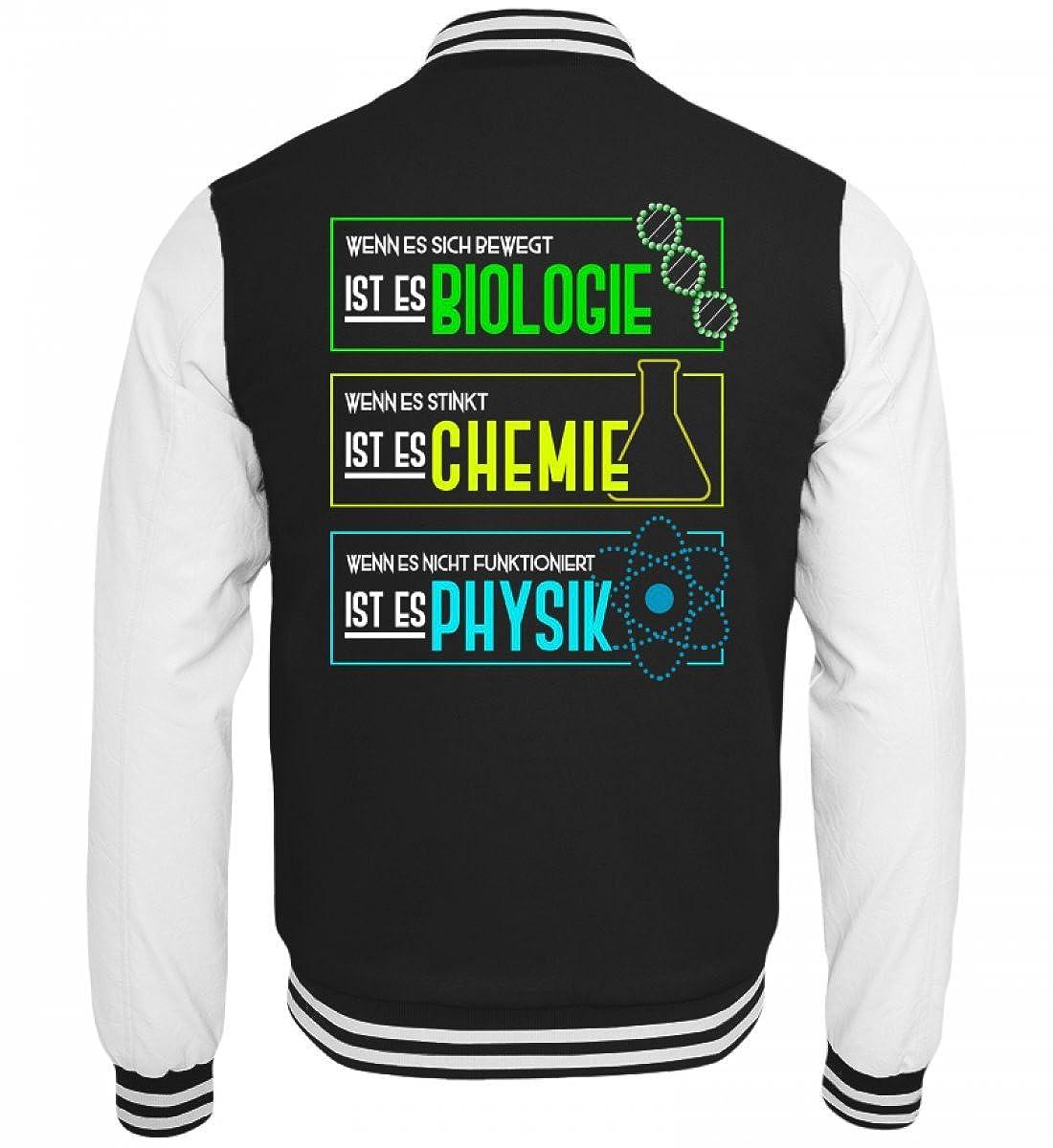 Chorchester Fü r Biologie, Chemie und Physik Nerds - College Sweatjacke Shirtee 47CG8ZCS_JH043*B*__XS__6757
