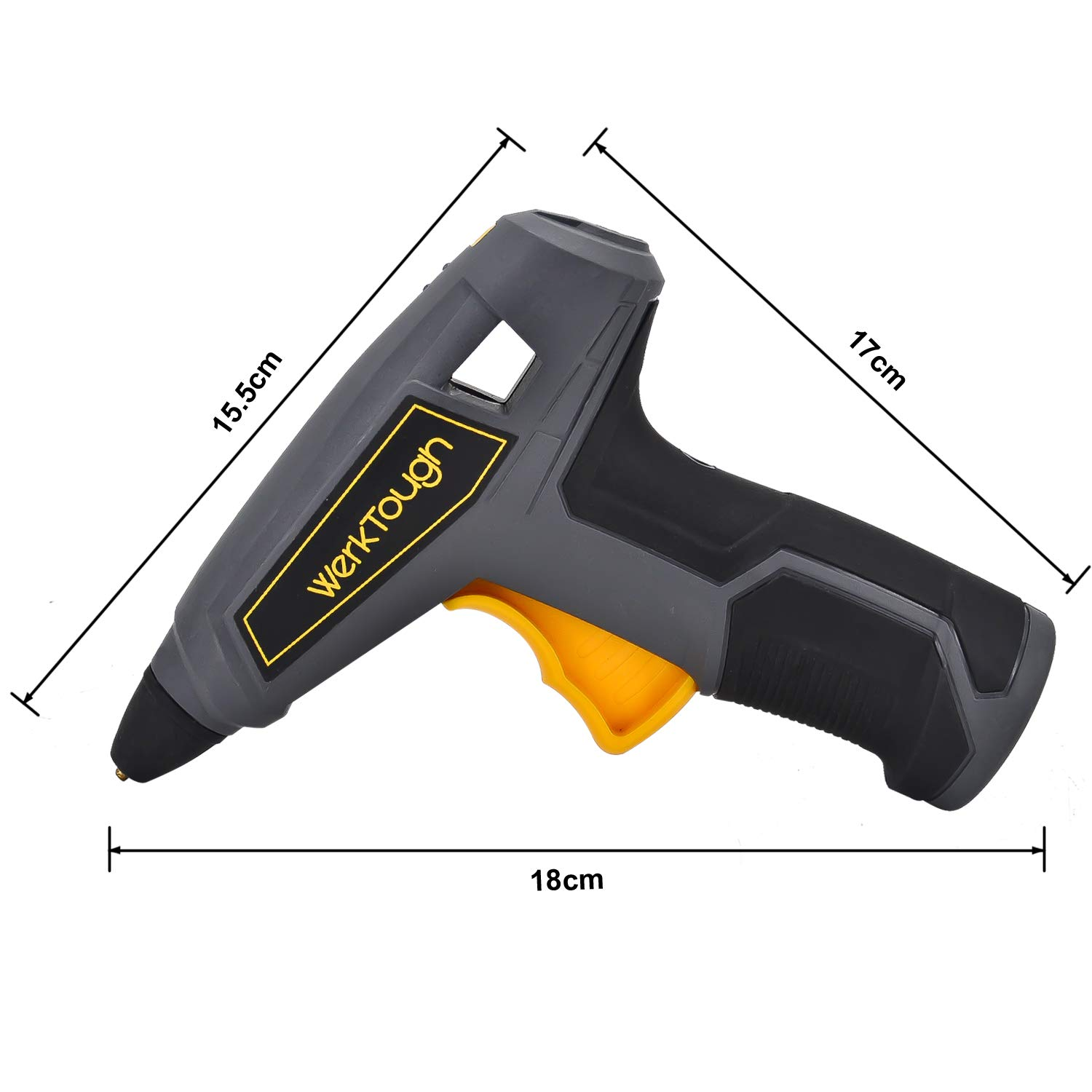 Werktough HG03 3.6V cordless glue gun Super Fast Heating 15s