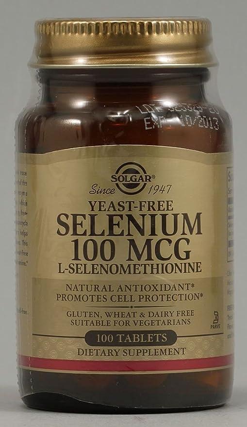 Solgar - 100 de selenio mcg. -100 comprimidos antes Seleno 6