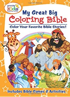 My Great Big Coloring Bible With Activities