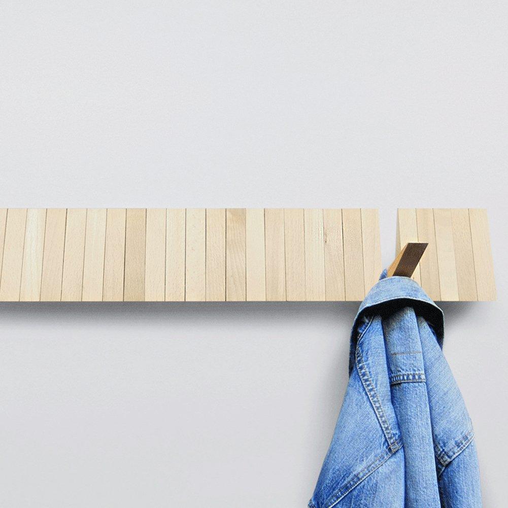 ILoveHandles Schaltschrank Modular Garderobe aus Holz, Braun