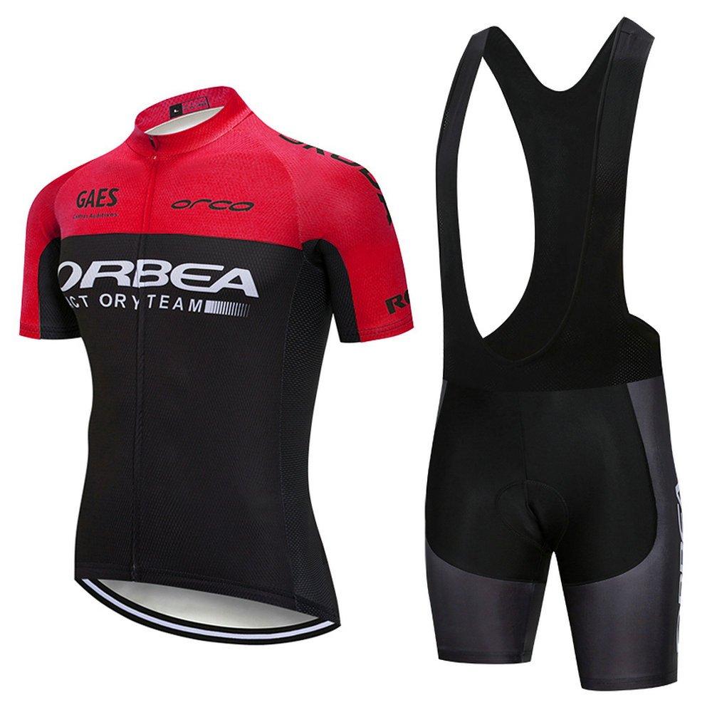 Amazon.com: Cicix Ciclismo Jersey Hombres Mangas Cortas ...