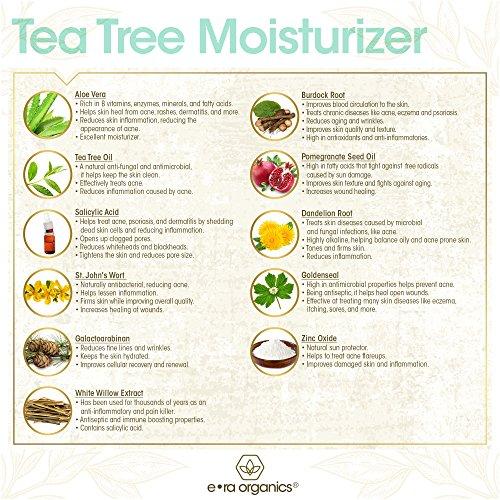 Era Organics Tea Tree Oil Face Cream Ingredient List