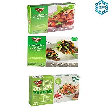 Frys Family Foods Pack de 3: SABOR A POLLO TIRAS, SABOR ...