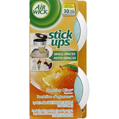 Air Wick Stick Ups Air Freshener, Sparkling Citrus, 2ct: Health & Personal Care
