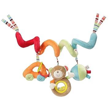 Stoff-Spirale zum Greifen und Fühlen für B Fehn 074451 Activity-Spirale Safari