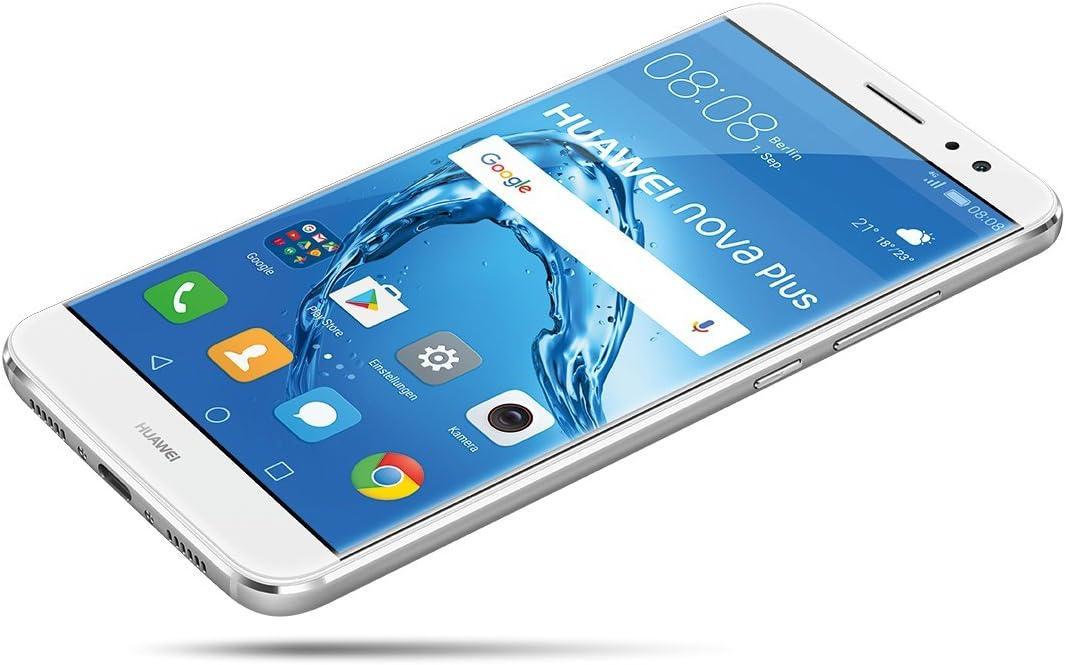 Huawei Nova Plus SIM Doble 4G 32GB Plata: Amazon.es: Electrónica