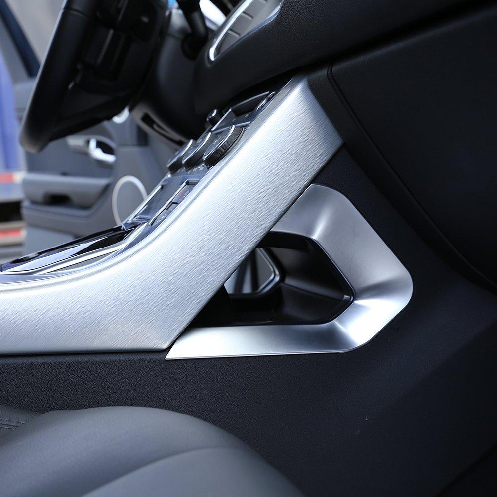 Accessori auto Centeral decorazione a forma di U telaio ABS cromato nuovi arrivi BEINSTOCK
