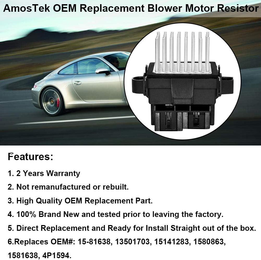 2016-2017 Chevrolet Camaro OEM Heat Heater AC A//C Blower Motor Fan