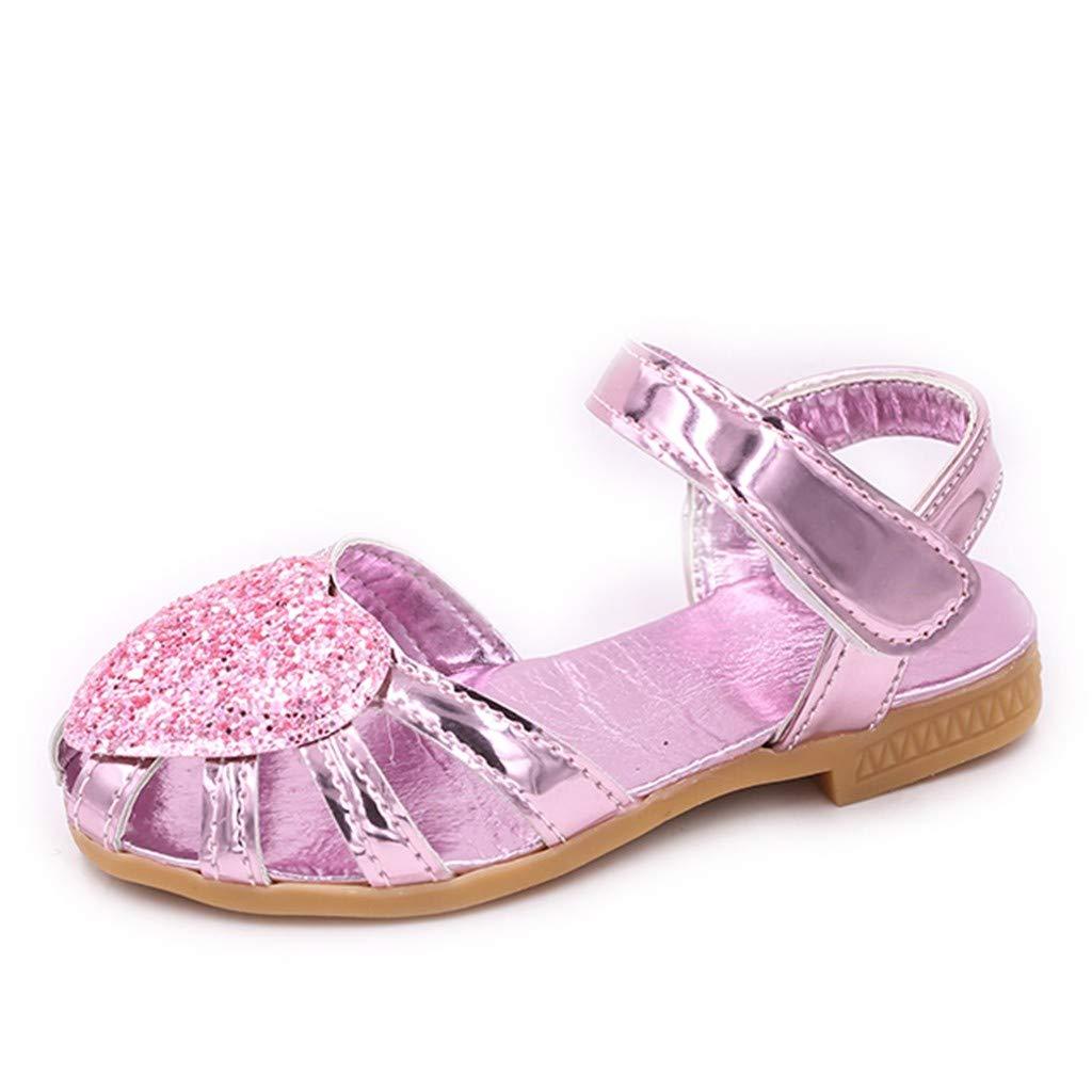 328d825a7a9f9 Amazon.com : Luonita Children Kids Baby Girls Princess Soft Sandals ...