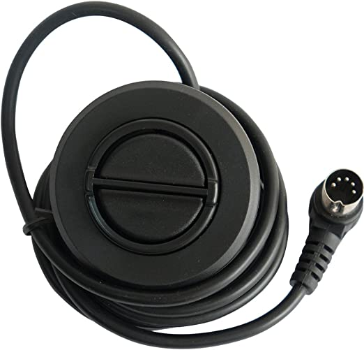 Okin 2 Button Round Hand Control Handset with 5 pin Plug Recliner or Lift Chair