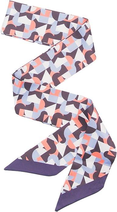 Women Skinny Scarf Satin Long Slim Ribbon Thin Tie Neck Fashion Ladies Scarf WA