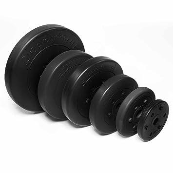 Eisen Hantel Gewichte Gewichtsscheiben Hantelscheiben 1,25kg 2Stück