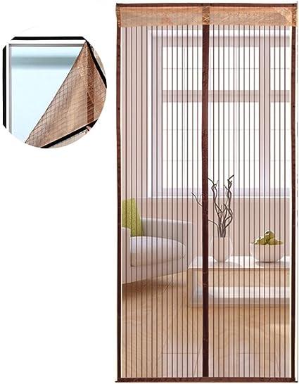 Icegrey Automatica Porta Magnetica Schermo Zanzariera Magnetica Maglia Caff/¨/¨ 90 X 200cm