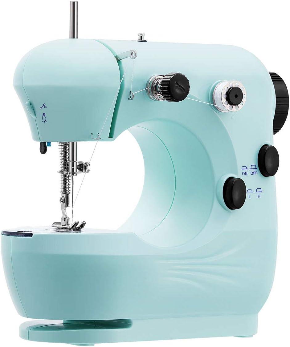 Easycoy - Máquina de coser, color azul azul: Amazon.es: Hogar