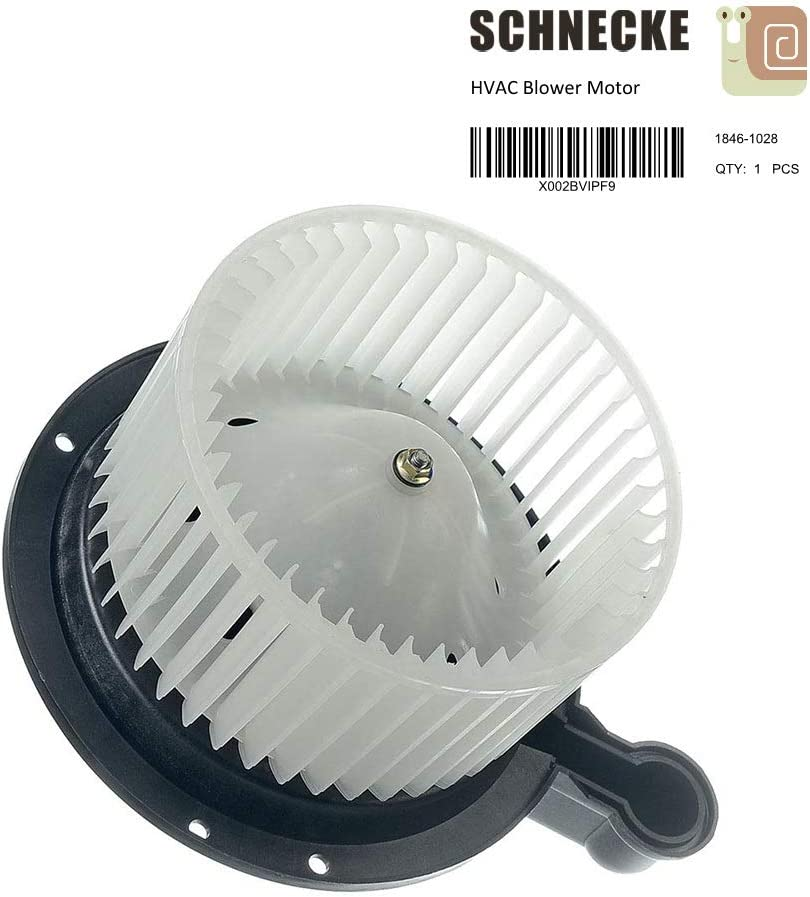 LINCOLN 02 Blackwood replaces XL7Z19805EA 97-03 F-150 F150 Schnecke Front AC Heater Blower Motor Fits select FORD 04 F-150 Heritage 98-02 NAVIGATOR 97-02 EXPEDITION YL7Z18504AA 97-03 F-250 F250