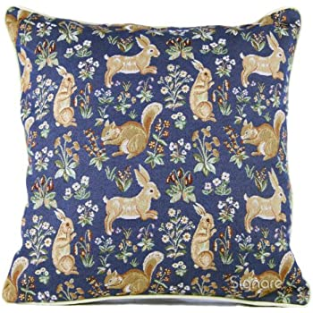 Amazon Com Signare Tapestry Double Sided Square Throw