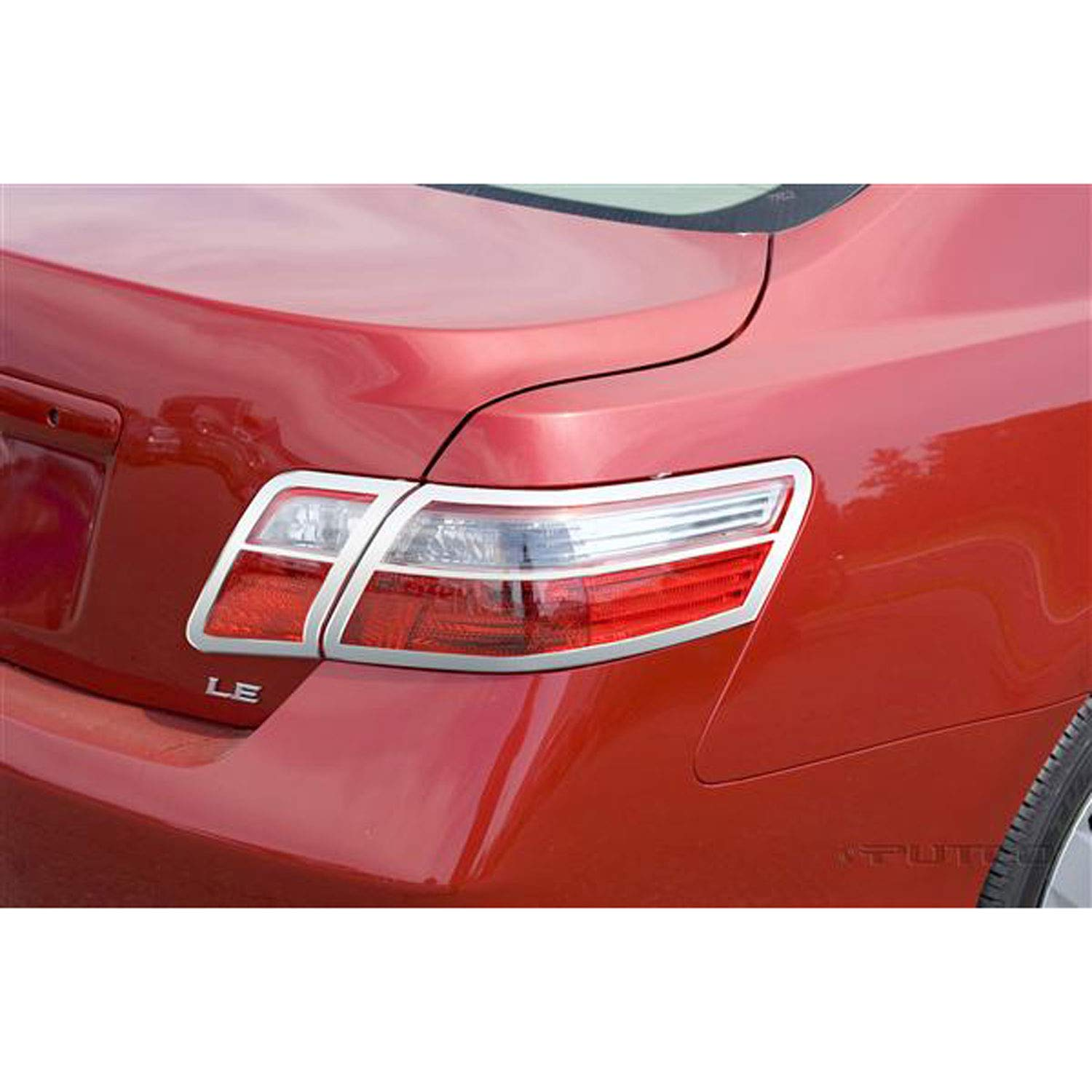 Putco 400855 Chrome Tail Light Cover for Select Toyota Models by Putco (Image #1)