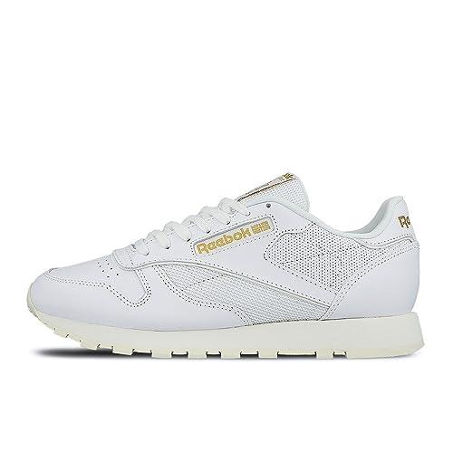 Reebok Classic Leather Alr (White Chalk Snowy Grey RB) Men s Shoes 22f801e39e1d