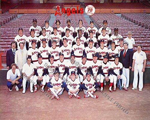 1978 California Angels 8x10 Team -