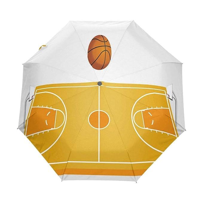 Doreen Dalton - Paraguas de Baloncesto 3D, 3 Pliegues, Cierre ...