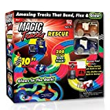 ONTEL Magic Tracks Resuce Race Car Set, Multicolor, 10'