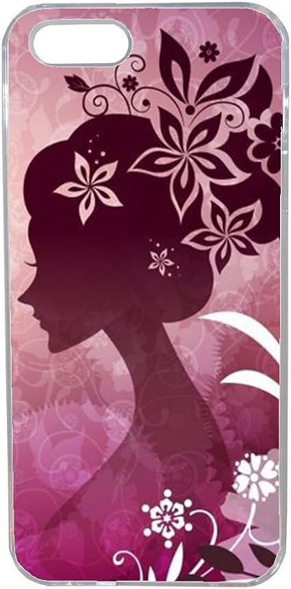 Aux Prix Canons Etui Housse Coque Girli Femme Fleur Swag